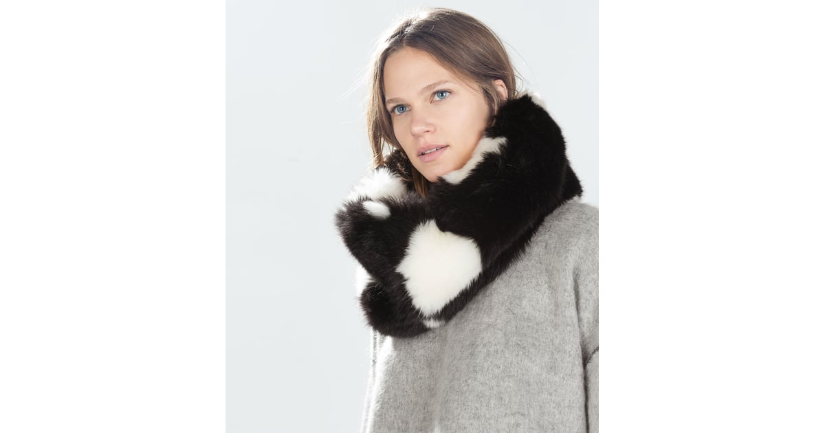 2243bc36 Zara Faux-Fur Snood | Winter Accessories | POPSUGAR Fashion Photo 25