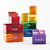 The Home Edit Rainbow Organiser Bins