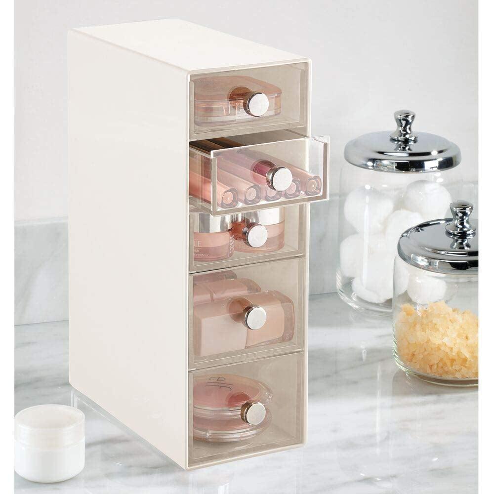 mDesign Plastic Cosmetic Storage Organiser