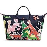 Longchamp x Clo'e Floirat Le Pliage Illustration Travel Bag