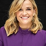 Reese Witherspoon With Golden Blond Hair