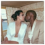 Kim Kardashian and Kanye West Wedding Pictures