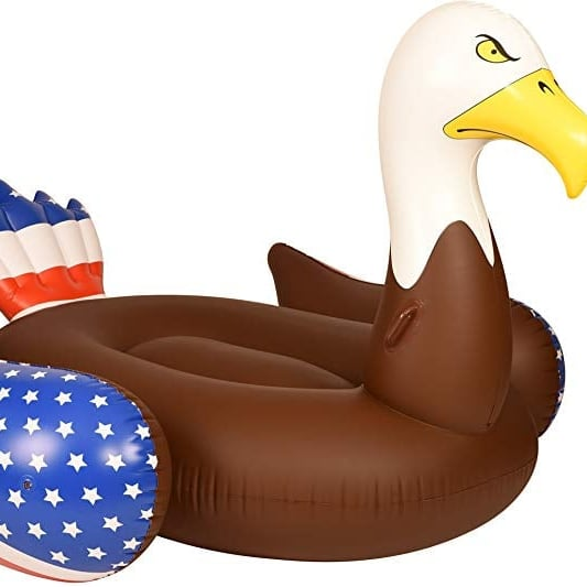 This Bald Eagle Pool Float Is What Every Summer Party Needs