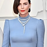 Charlize Theron's Brown Hair at the 2019 Oscars