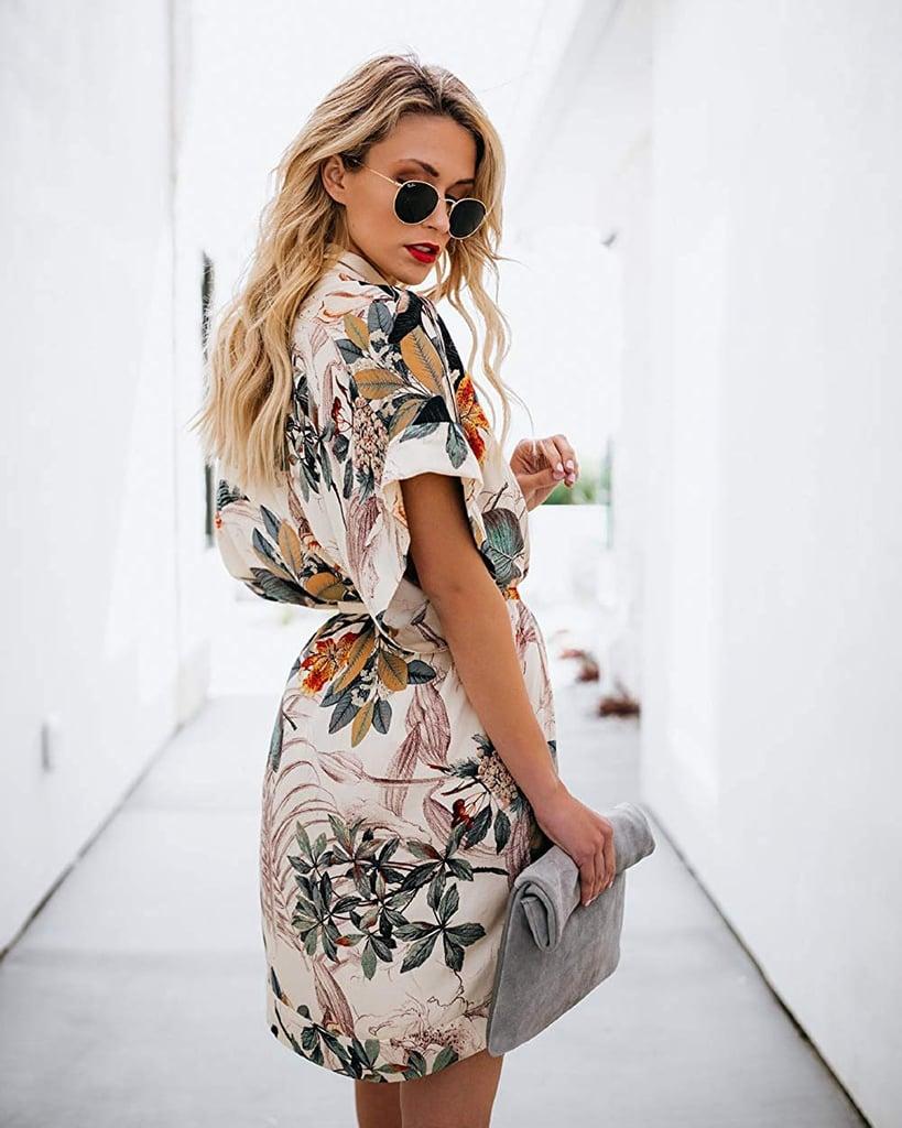 PEIQI Floral Dress