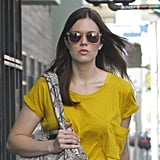 It's clear Mandy Moore has a knack for pulling off the acetate sunglasses trend.