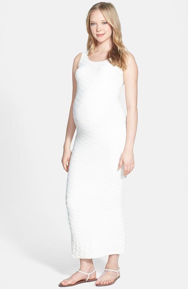 Tees by Tina Lattice Maxi Maternity Dress