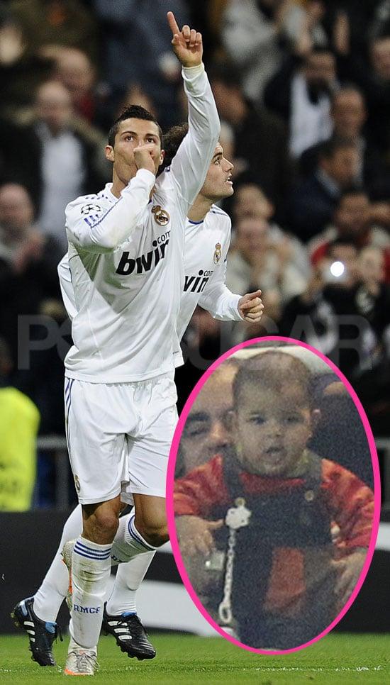 Pictures of Cristiano Ronaldo's Baby