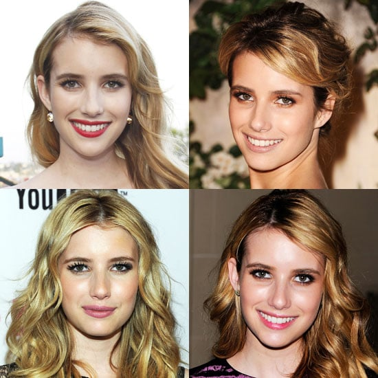 Which Lipstick Colour Do You Like Most on Emma Roberts?