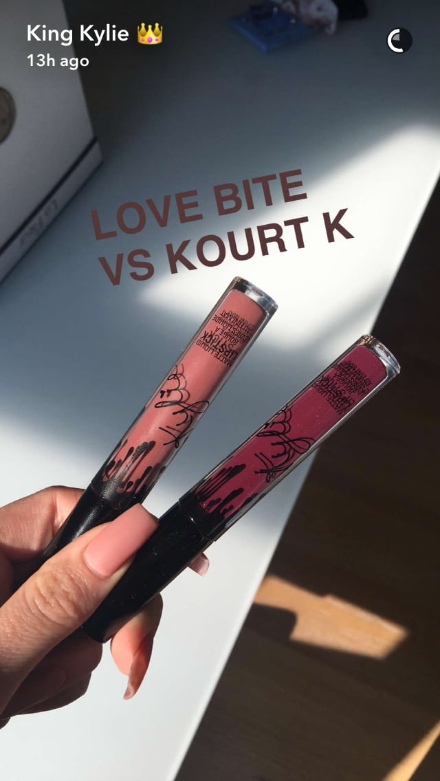 Kourt K Dupes: Comparison Of Kylie Lip Kits In Love Bite And Kourt K