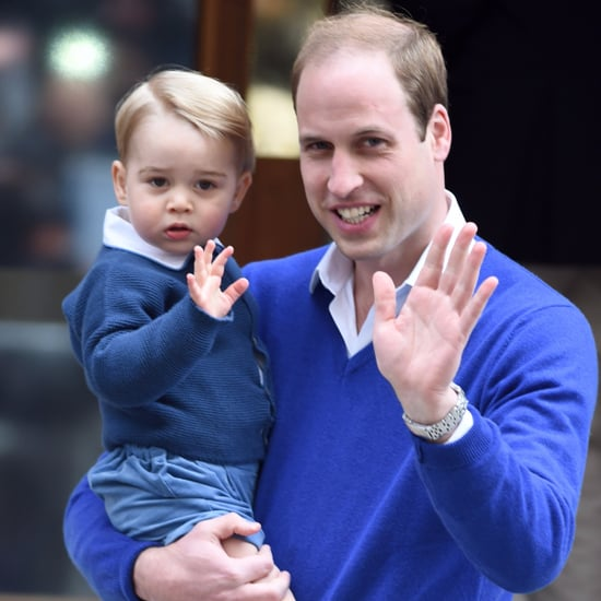 Prince George and Prince William Similarities