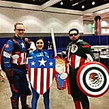 Captain America(s) and Captain Mexico