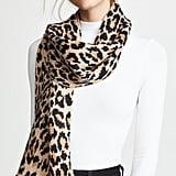Kate Spade New York Leopard Muffler Scarf