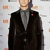 Joseph Gordon-Levitt in a velvet suit.