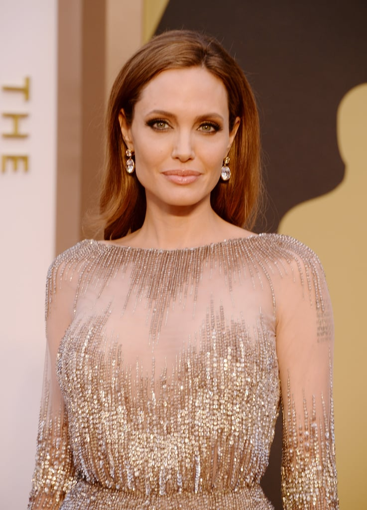 Angelina Jolie at 2014 Oscars
