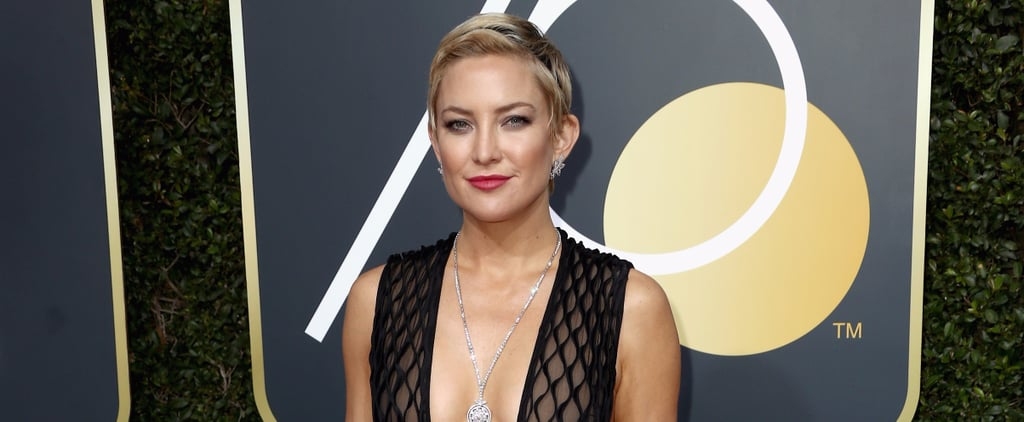 Kate Hudson's Gown Was Made For Standing Out