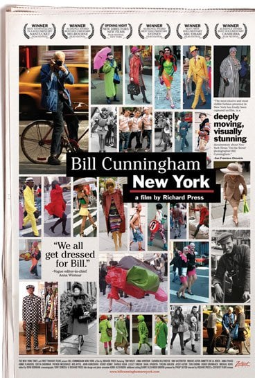 See the Bill Cunningham New York Trailer