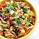 Asian Chicken Edamame Salad