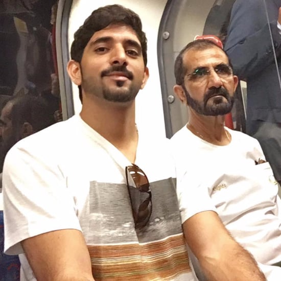 Dubai Sheikhs Go Unnoticed on London Underground