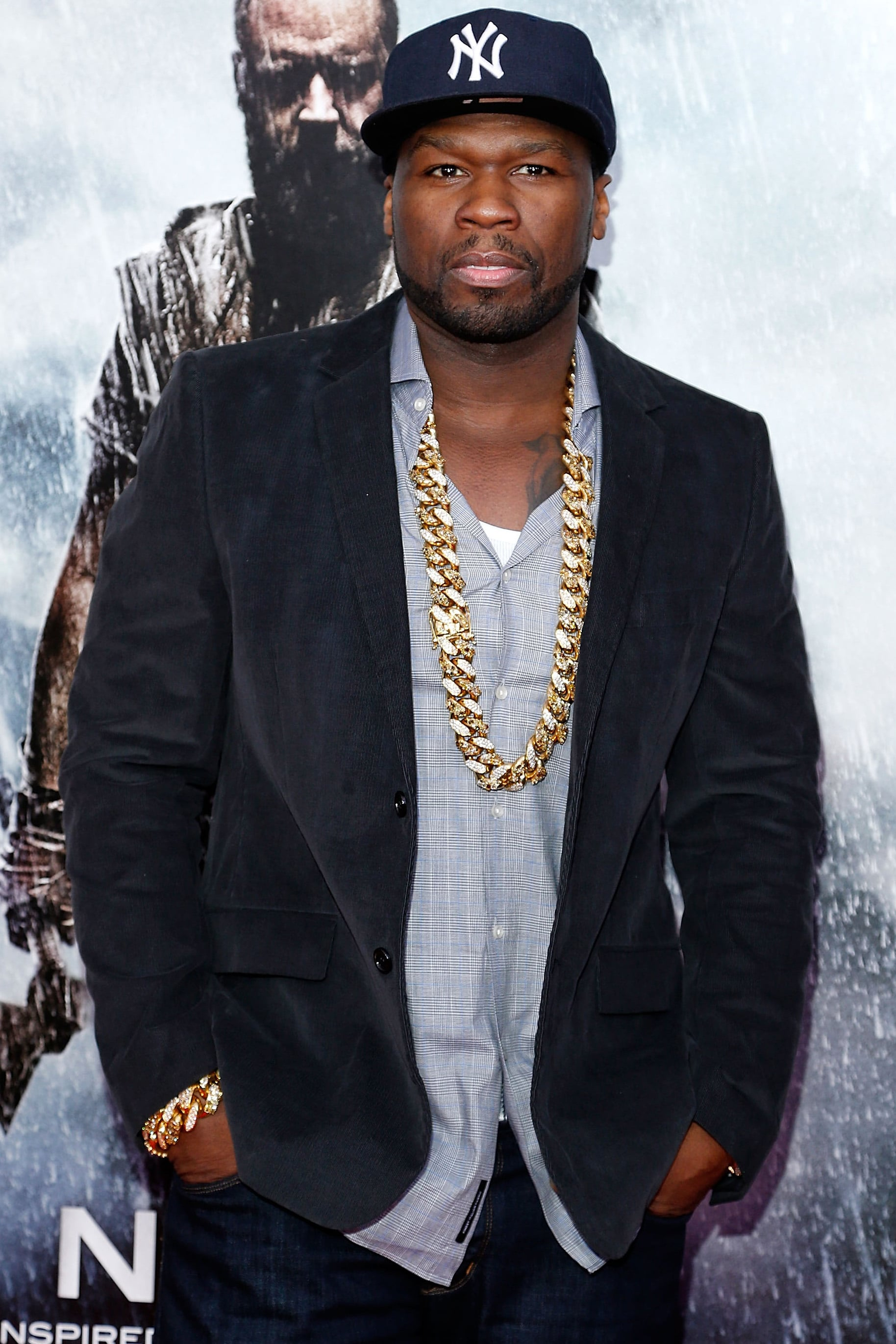 """Curtis """"50 Cent"""" Jackson joined Spy, Paul Feig's upcoming comedy starring Melissa McCarthy, Jason Statham, Jude Law, and Rose Byrne."""