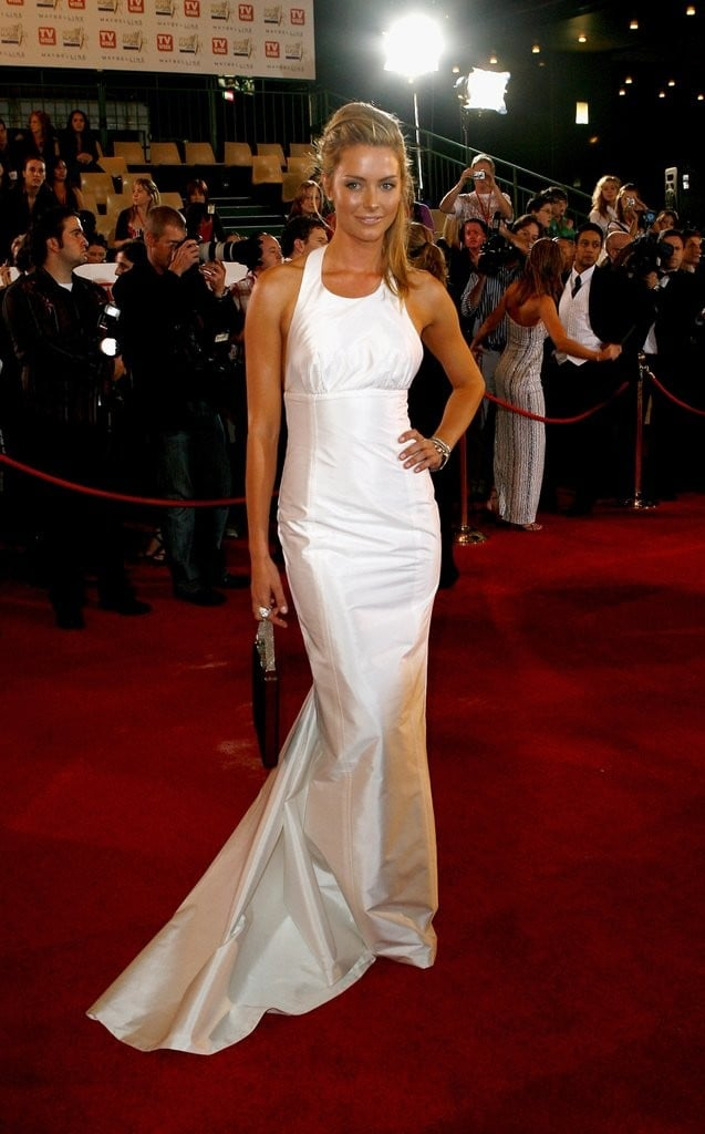 Jennifer Hawkins Logie Awards Red Carpet Looks
