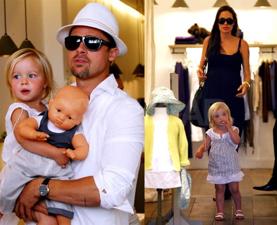 Shiloh Jolie-Pitt in France