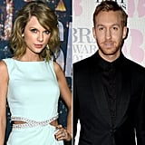 Oddly enough, Calvin is now romancing Ellie's Friend Taylor Swift.