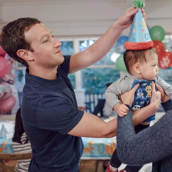 Mark Zuckerberg and Baby Max
