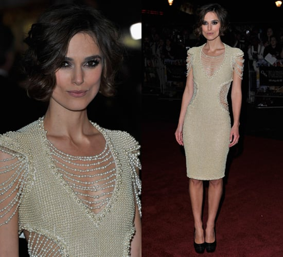 Photos of Keira Knightley in Chanel at the Never Let Me Go ...