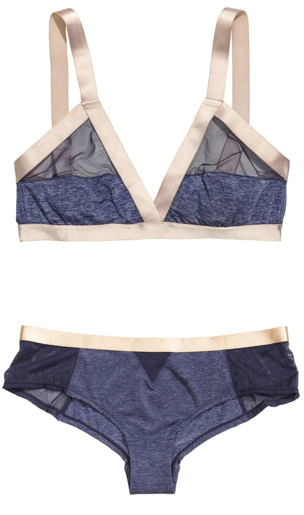 H&M Triangle Bra and Brief Set