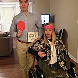 Forrest Gump and Lt. Dan Taylor