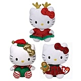 Instead of cuddling with just one Hello Kitty, try a set of three with the Ty Hello Kitty Beanie Babies Plus ($28). You get three different costumed Hello Kitty's: one as a Christmas reindeer, another with a gingerbread man, and one who is an elf.