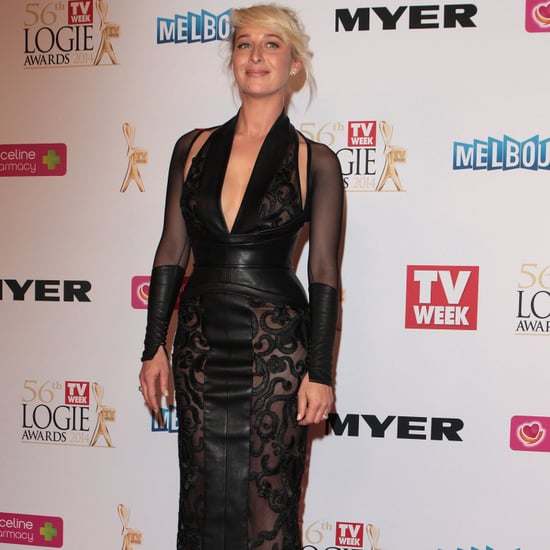 Asher Keddie on the 2014 Logies Red Carpet