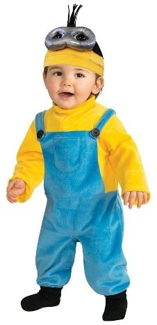 Minions Costume Yellow
