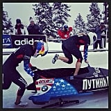 She and Jamie Greubel won the silver medal in the World Cup Race in Park City, UT, in December 2013. Source: Instagram user lolojones