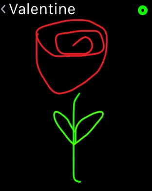 Send a Scribble Rose to Their Wrist