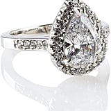 Fantasia Antique Pear Shaped Ring