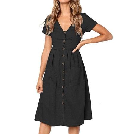 JustVH V-Neck Dress