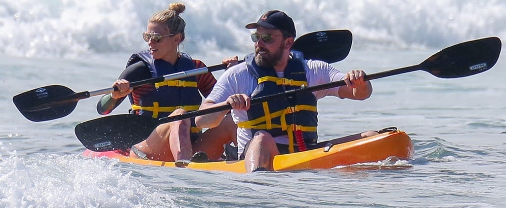 Ben Affleck and Lindsay Shookus Kayaking in Hawaii 2018