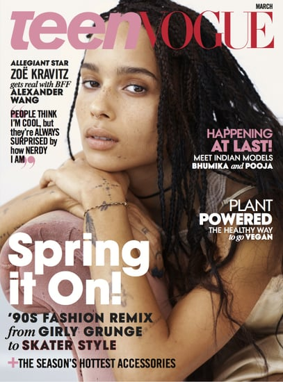 Zoe Kravitz in Teen Vogue March 2016