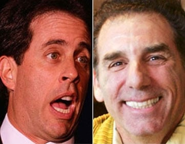 Michael Richards Makes Jerry (and us) Sick
