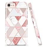 Doujiaz Graphic Marble Phone Case
