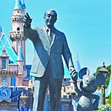 The iconic statues that sit in the centre of the park.