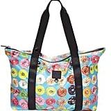 Donut-Print Collapsible Tote