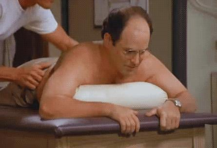 When George Gets This Massage