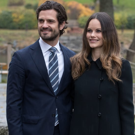 Princess Sofia Wearing a Black Coat October 2016