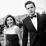 Pictured: Sarah Hyland and Dominic Sherwood