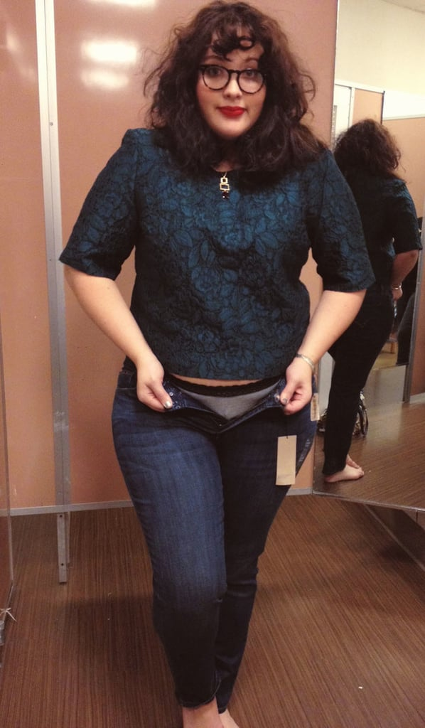 Plus-Size Model Compares Different Pairs of Size 16 Jeans ...
