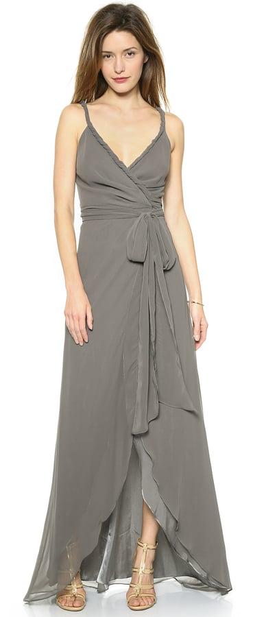 Joanna August The Parker Twist Strap Wrap Dress ($285)