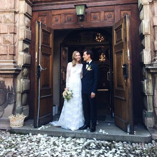 Carolina Engman's Hochzeitskleid